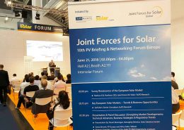 JF4S Intersolar Munich 2018